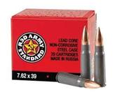 RED ARMY STANDARD AMMUNITION 7.62X39 122GR 20CT